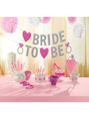 Hen Party - Glitter Banner Bride to be