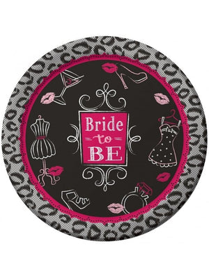 Hen Party Bride To Be Plates