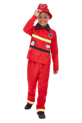 Kids Fire Fighter Costume