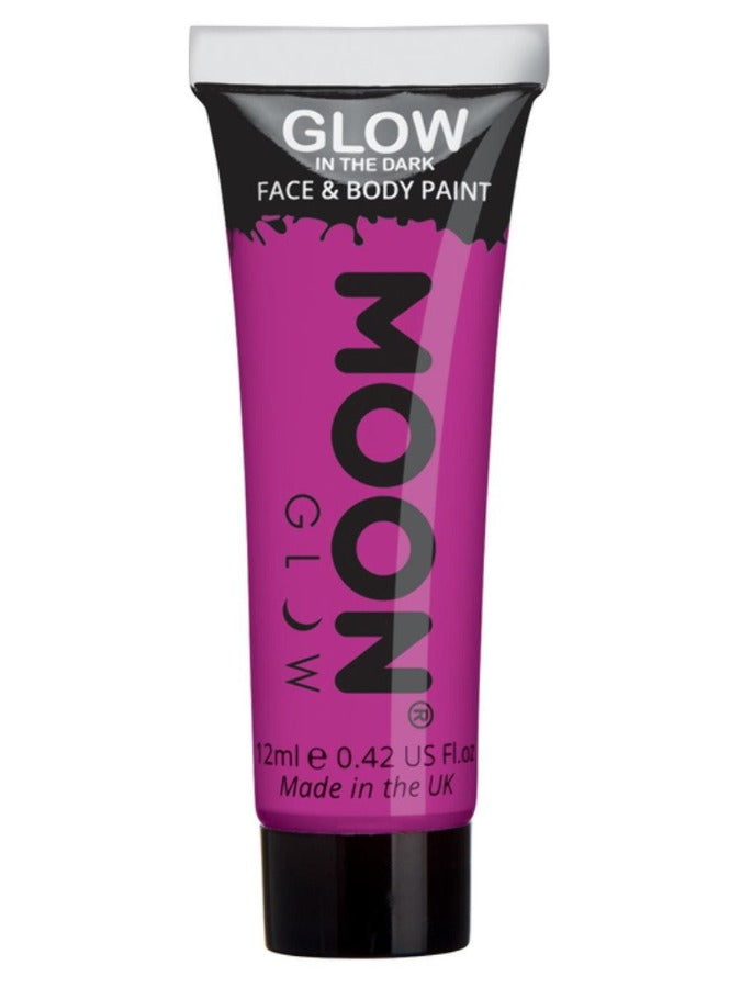 Moon Glow - Glow in the Dark Face Paint, Purple