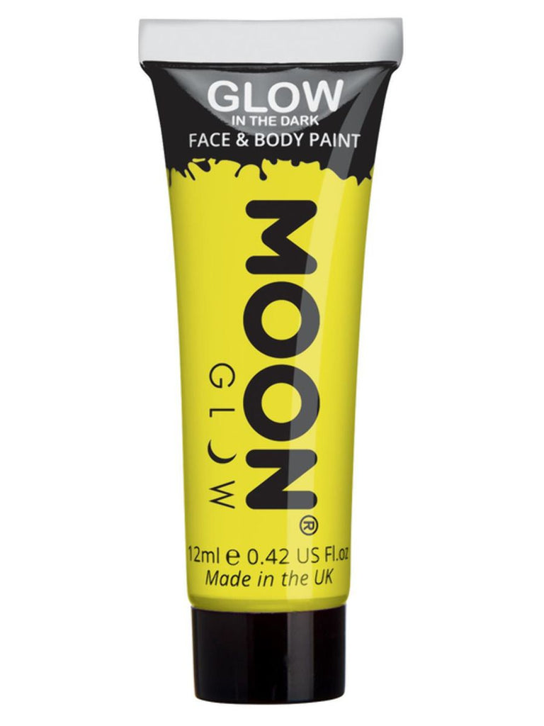 Moon Glow - Glow in the Dark Face Paint, Yellow