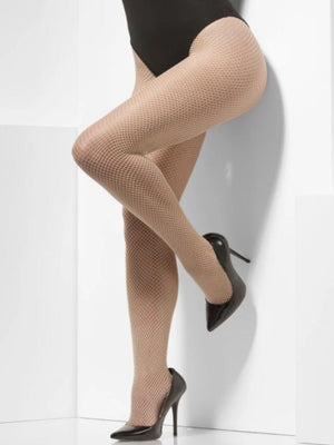 Nude Colour Fishnet Tights