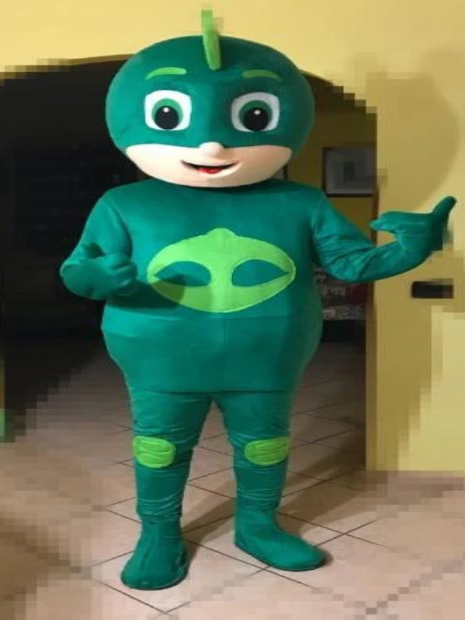 PJ Masks Green Mascot Costume Hire