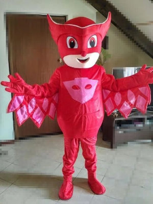 PJ MASKS Red Mascot Costume Hire