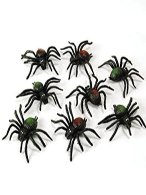 Scary Creatures. Spiders. 8pkt