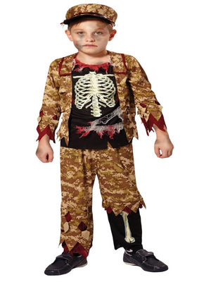 5a9079b51f Pretty Bones Skeleton Girls Costume €24.00 · Skeleton Boy Soldier Costume