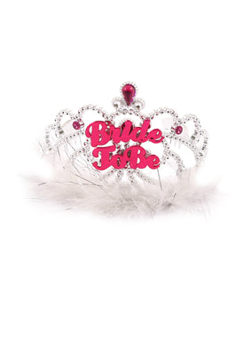 Tiara Bride To Be With Fur 12.5 Cm
