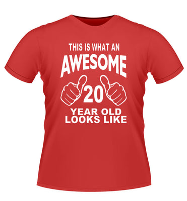 'This is what Awesome looks Like' Age Tshirt