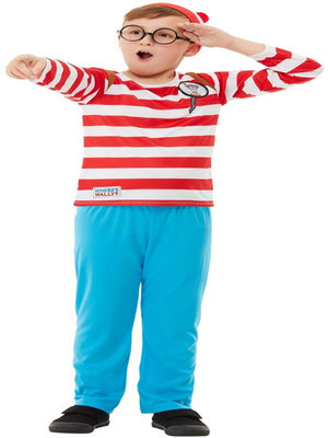 Wheres Wally Deluxe Costume