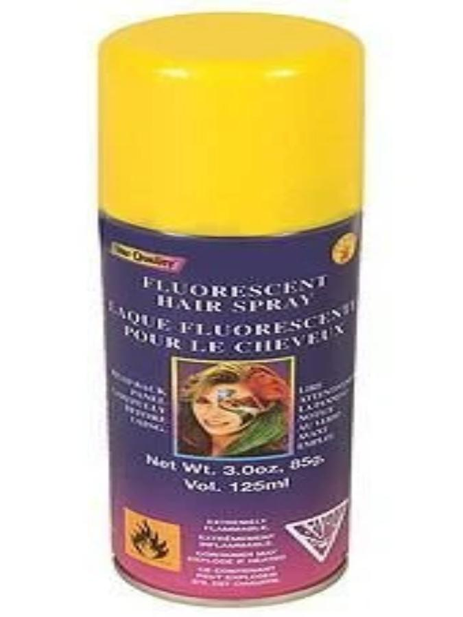 Yellow Wash Out Hair Spray