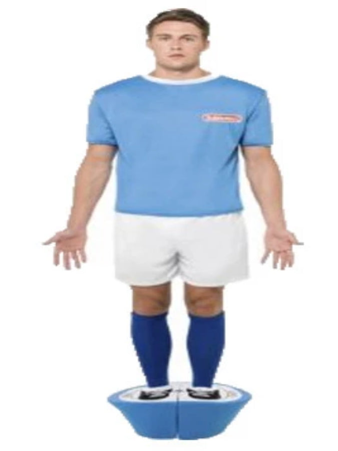 Adult Subbuteo Blue Strip Costume