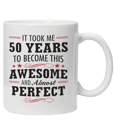 Age Awesome BIRTHDAY Mug