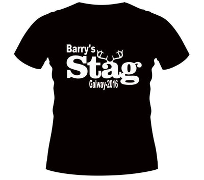 eef76c923 Personalised Stag Party T-Shirts | Athlone Jokeshop and Costume Hire