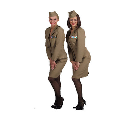 army girl short Costume Hire