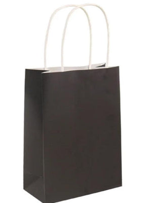 Bag Black With handles 14x21x7 Cm