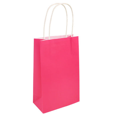 Bag Hot Pink With handles 14x21x7 Cm