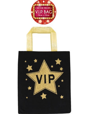 Bag Vip Black/gold 19cm X 23cm