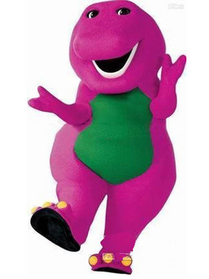 Barney Mascot look a like Costume Hire
