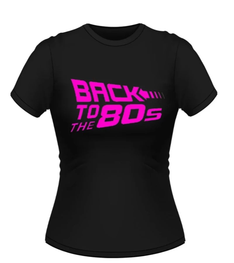 Back to the Future 80's Theme Tshirt