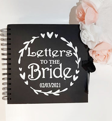 Letters to the Bride Personalised Hen Party Memory Book