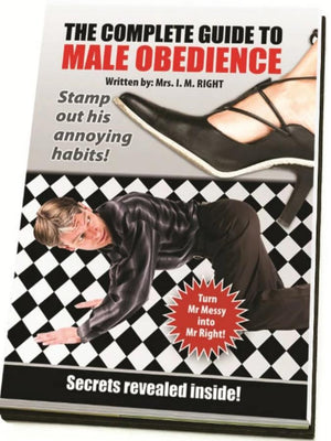 Blank Book - The Complete Guide To Male Obedience