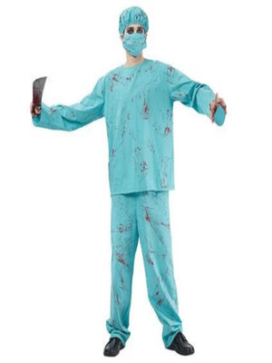 Blood Splatter Surgeon Costume