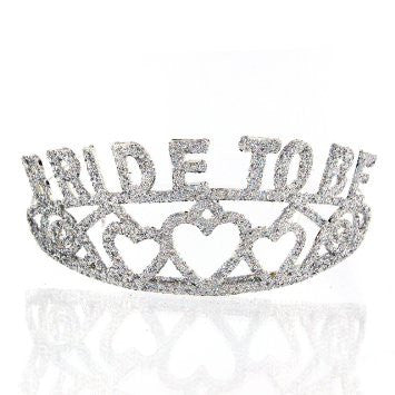 Hen Night Bride to be glitter tiara