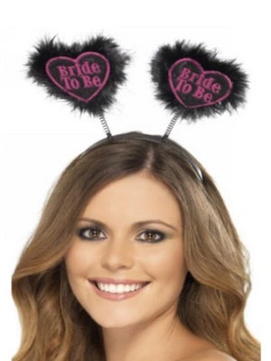 Hen Night Bride To Be Love Heart Boppers