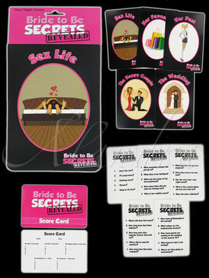 Hen Party Bride To Be Secrets Revealed Game