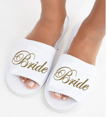 'Bride' slippers