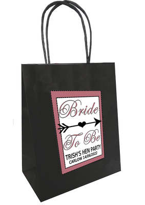 Bride Tribe 'Bride to Be' personalised bag