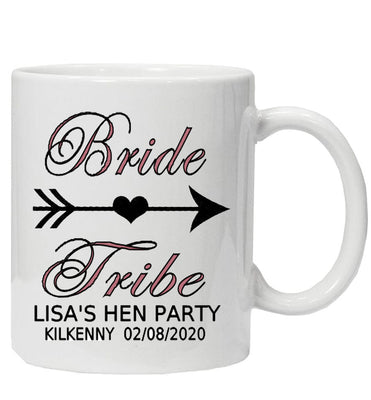 Personalised 'Bride Tribe' Hen Party Mug