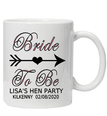 Personalised Bride Tribe 'Bride to Be' Mug