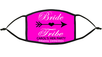 Bride Tribe Personalised Re-Usable Face Mask