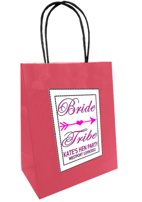 Bride Tribe 'Pink design'  Personalised Hen Party Bag