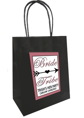 Bride Tribe Personalised Hen Party Bag