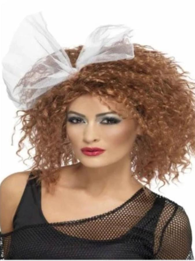 Brown 80s Wild Child Wig