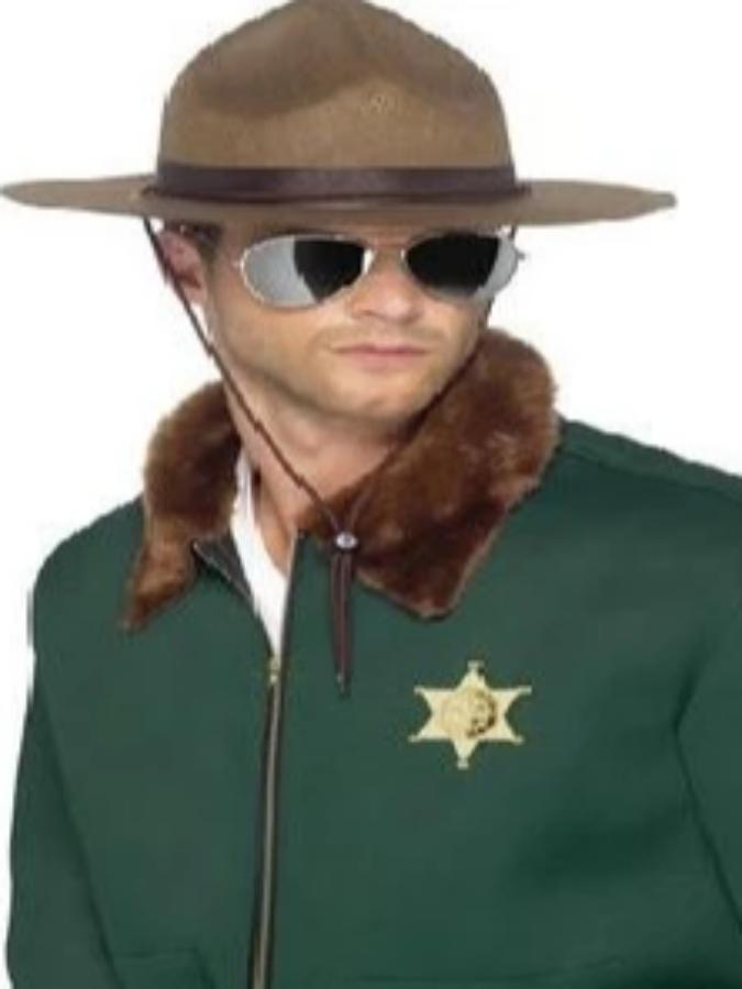 Brown Sheriff Hat