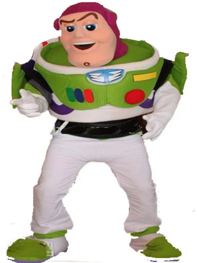 buzz lightyear look a like costume hire athlone jokeshop and