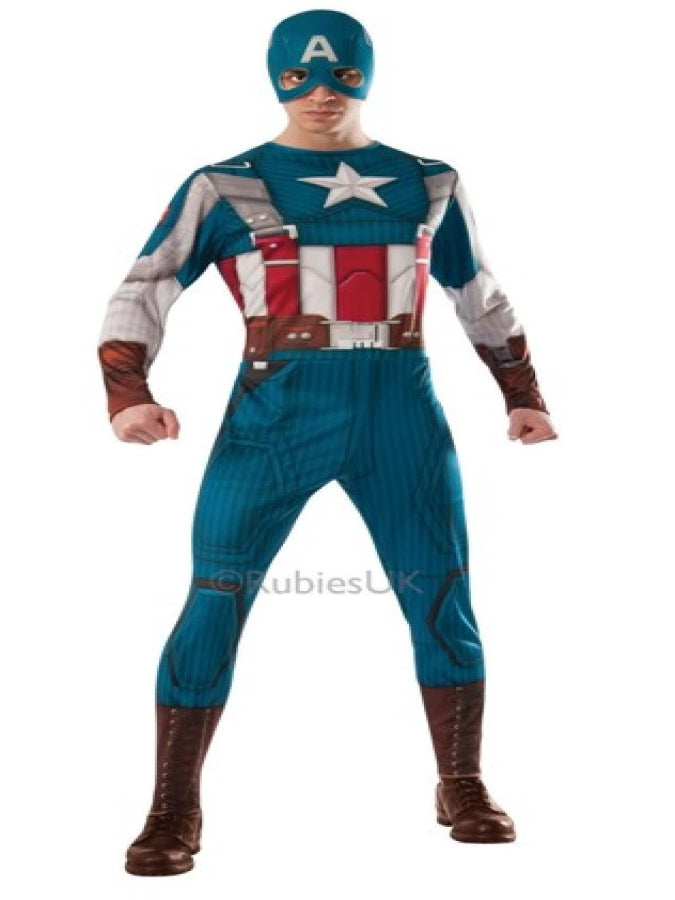 CAPTAIN AMERICA CLASSIC FANCY DRESS COSTUME