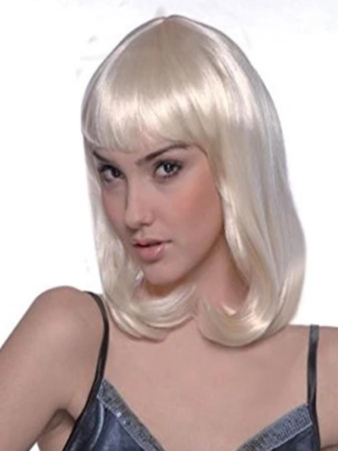Cheerleader Wig.Blonde deluxe