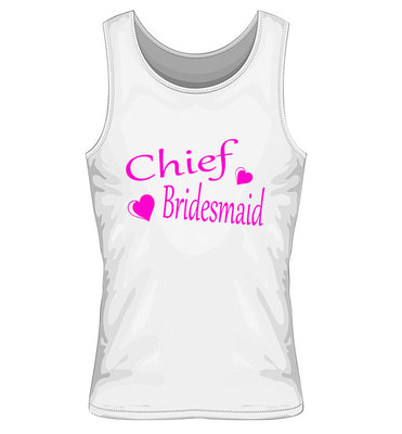 Chief Bridesmaid Vest