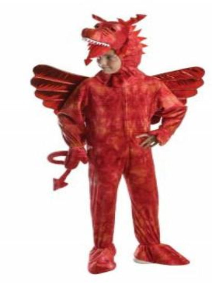 CHILD FANTASY RED DRAGON COSTUME