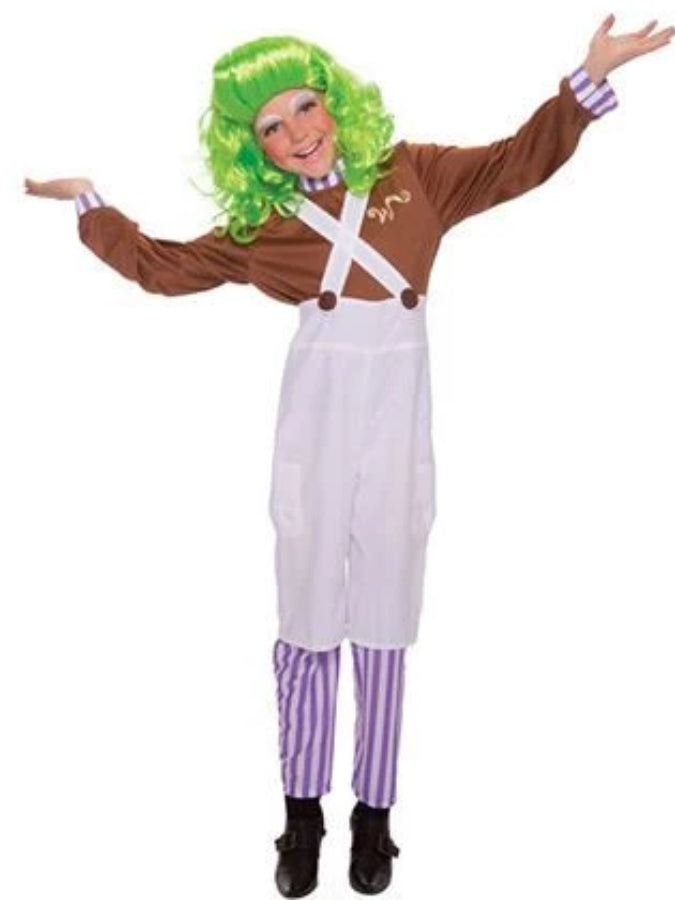 Children's Chocolate factory worker costume