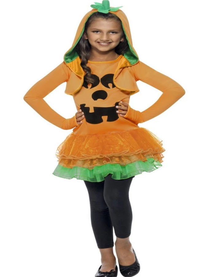 Children's Pumpkin Tutu Dress