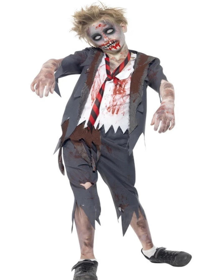 Children's Zombie School Boy Costume