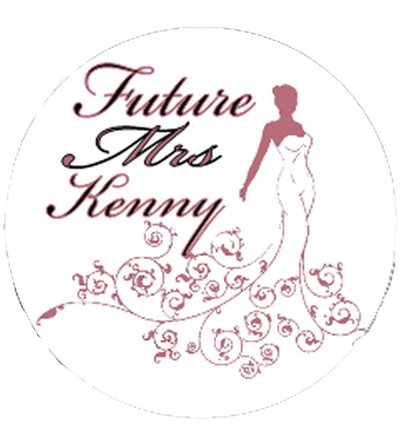 Classy 'Future Mrs' Personalised Hen Party Badge