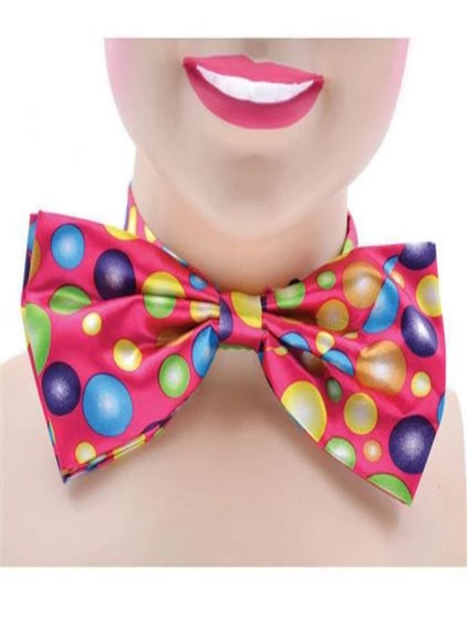 Clown Bow Tie with spots