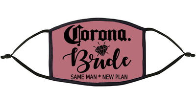 Corona Bride  Re-Usable Face Mask