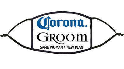Corona Groom Re-Usable Face Mask